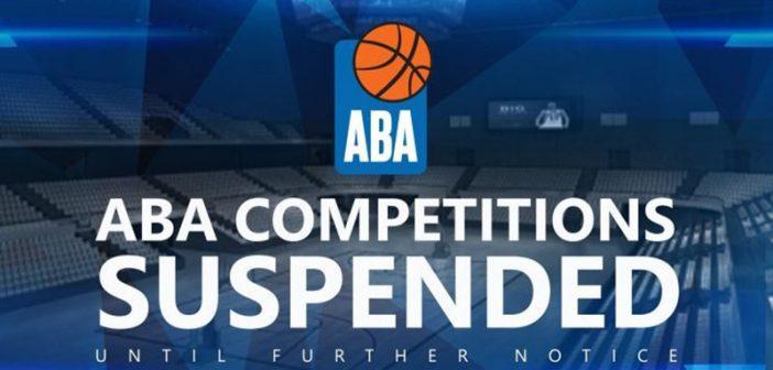 Zaustavljena ABA liga na neodređeno vrijeme